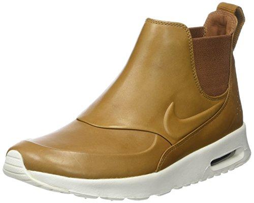 Nike Damen W AIR MAX THEA MID Kurzschaft Stiefel, Braun (Ale Brown/sail/Velvet Brown/ale Brown), 41 EU