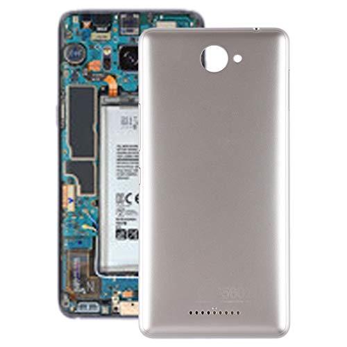 Beilaishi Kit de reparación de teléfono móvil Tapa trasera de batería con teclas laterales para BQ Aquaris U Lite (dorado) pieza de repuesto (color: dorado)