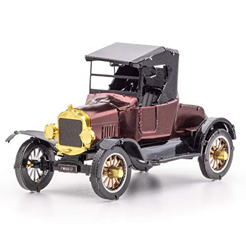 Fascinations Metal Earth Ford 1925 Model T Runabout 3D metalen puzzel, constructiespeelgoed, vanaf 14 jaar