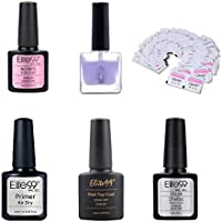 Elite99 Esmaltes Semipermanentes de Uñas en Gel UV LED, 6pcs Kit de Esmaltes de Uñas 10ml