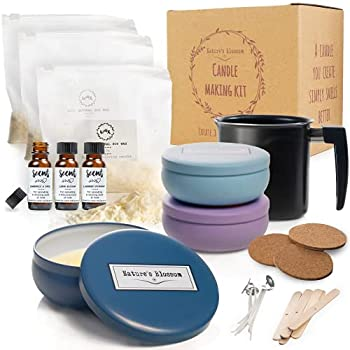 Nature's Blossom Candle Making Kits