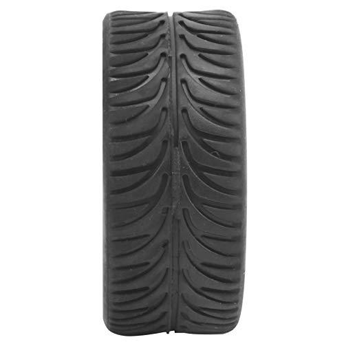 01 Piezas de RC, Neumático de Rueda RC con aleación de Aluminio y Caucho para Coche teledirigido