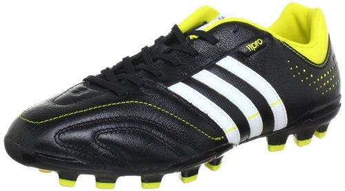 adidas Performance 11Nova TRX AG Q23824, Herren Fußballschuhe, Schwarz (BLACK 1/RUNNING WHITE FTW/VIVID YELLOW S13), EU 40 2/3  (UK 7)