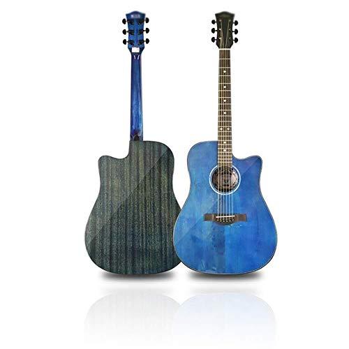 Guitarra eléctrica Guitarra acústica 41 en Spruce chapa Starter Kit guitarra clásica...