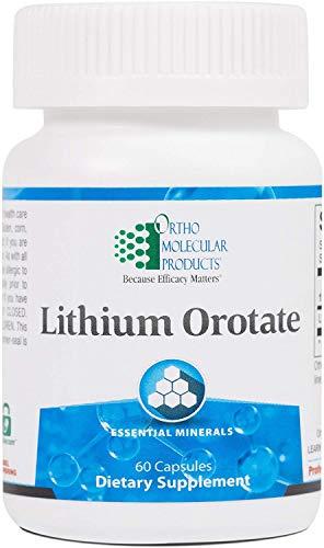 Ortho Molecular - Lithium Orotate - 60 Capsules