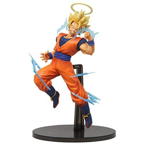 DB Banpresto Super Saiyan 2 Goku Angel Dokkan Battle Dragon Ball Z Figura Figura 15 cm