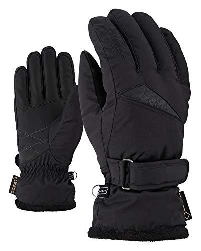 Ziener Damen KOFEL GTX lady glove Ski-handschuhe/Wintersport | Wasserdicht, Atmungsaktiv, , schwarz (black), 7