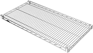 ルミナス ポール径25mm用パーツ 棚板 スチールシェルフ(耐荷重250kg)ワイヤー奥行方向 1枚(スリーブ無し) 幅91.5×奥行46cm SR9045