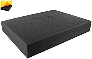 FS050RS-Bundle 50 mm (2,0 Inch) Customizable Pick Pluck Foam for All Kind of Using self-Adhesive with Separate Bottom