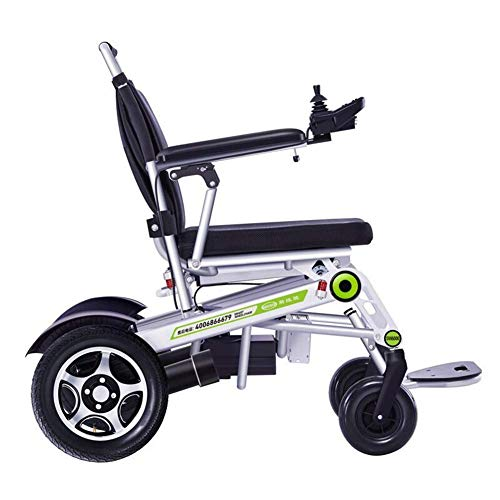 TWL LTD-Wheelchairs Electric Wheelchair Aluminum Alloy Remote Remote Control Wheelchair Elderly Disabled Shock Four Wheel Scooter Can Carry Weight 150Kg