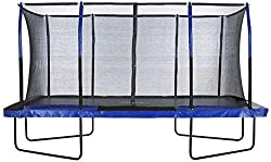 This Rectangular Trampoline is ideal for situations where space is at a premium. With an increased, more controlled, and more responsive bounce, this is the best trampoline shape for stunts and tricks. Additionally, rectangular trampolines last longe...