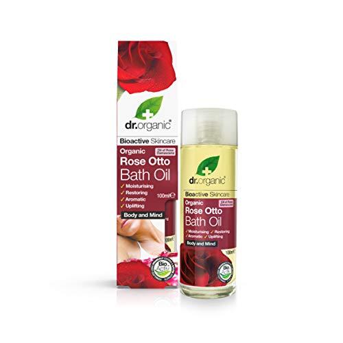 Dr. Organic Bade- und Massageöl Rose Otto 100 ml, Preis/100 ml: 9.99 EUR