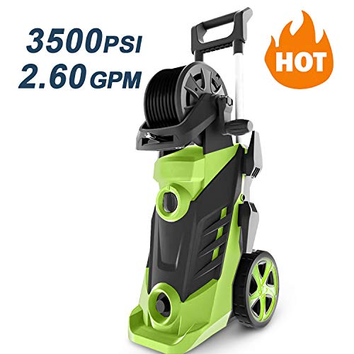 Review Of Homdox 3500 PSI 2.6 GPM Power Washer Electric Pressure Washer 1800W Electric Power Washer ...