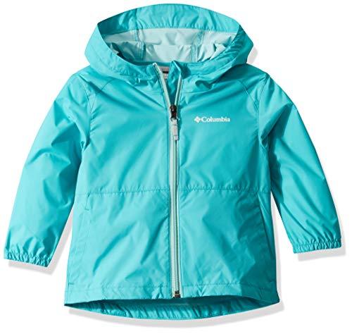 Columbia Girls' Big Switchback II Jacket, Geyser, Large
