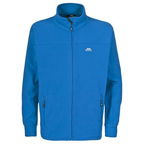 Trespass Bernal, Electric Blue, XXS, Warme Fleecejacke 300g/m² für Herren, XX-Small / 2XS / 2X-Small, Blau