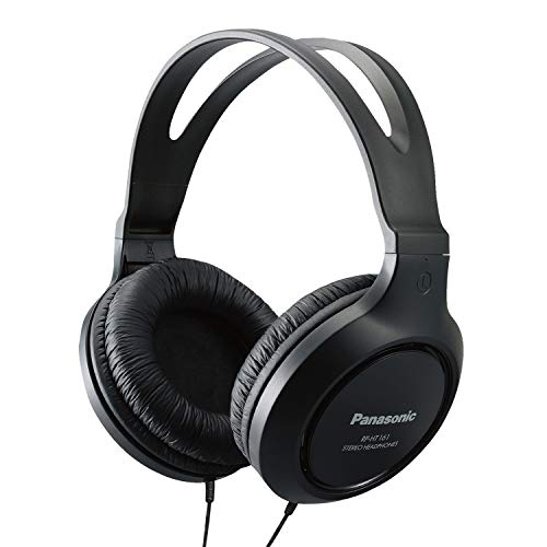 Panasonic Full-Sized, Lightweight Long-Cord Headphones...