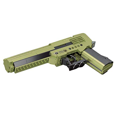 Tewerfitisme 226 piezas de simulación de armas 3 en 1 de Technics, juguete de armas Blaster Bricks Toy, Educational Shooting Military Series Regalo para adultos y niños, compatible con Lego