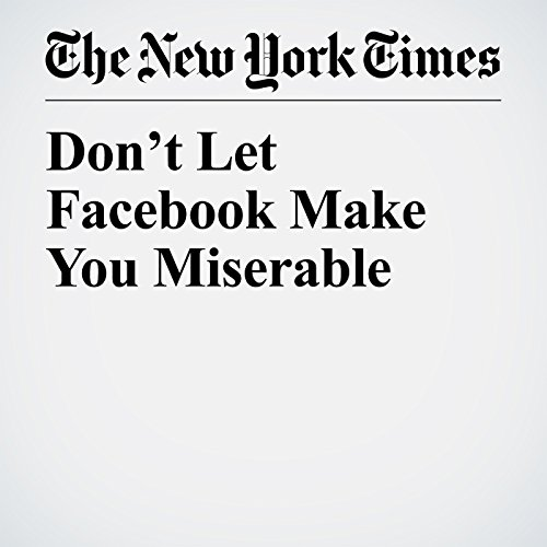 Don't Let Facebook Make You Miserable copertina