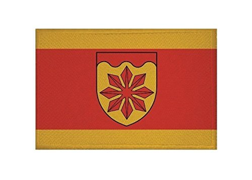 U24 Aufnäher Meerbusch Fahne Flagge Aufbügler Patch 9 x 6 cm