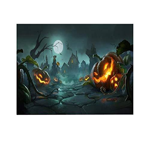 N / A 1000 Piezas de Rompecabezas de Halloween, Rompecabezas de Papel de 1000 Piezas, Juguete Educativo de patrón niños Adultos Grandes (B)