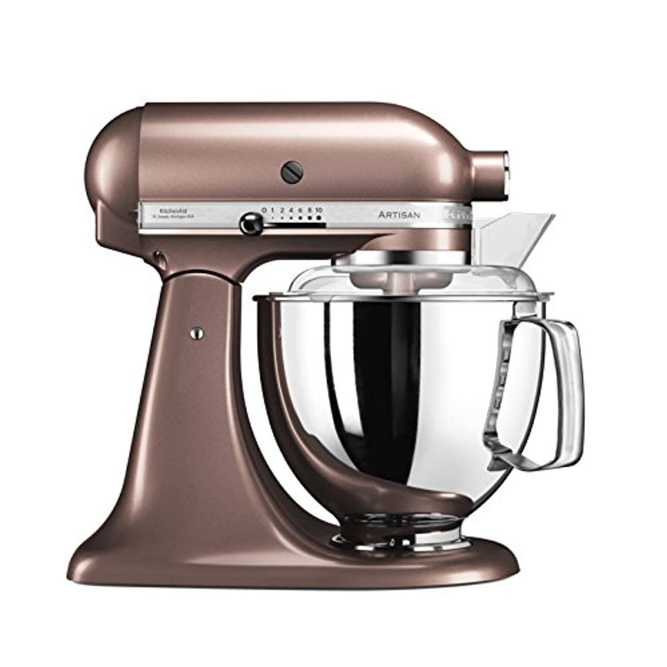 KitchenAid Artisan 5KSM175PSEAP 5 Qt.Stand Mixer Apple Cider with TWO Bowls & Flex Edge Beater 220 VOLTS NOT FOR USA