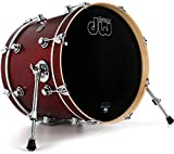 DW Performance Series Bass Drum - 14 Inches X 18 Inches Tobacco Satin Oil