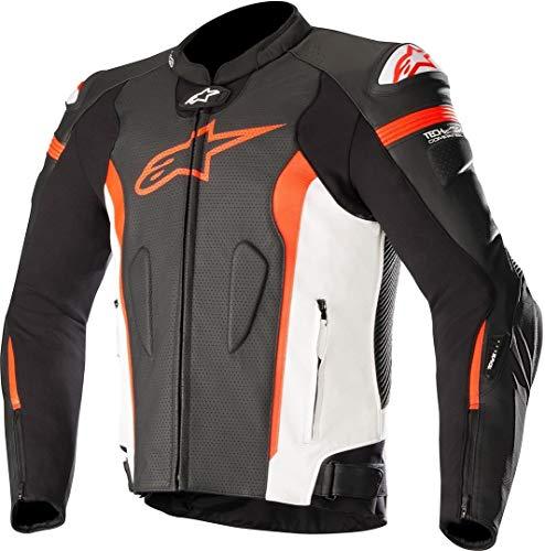 Alpinestars Men's 3100118-1230-52 Jacket (Black/White/Red, Size 52)
