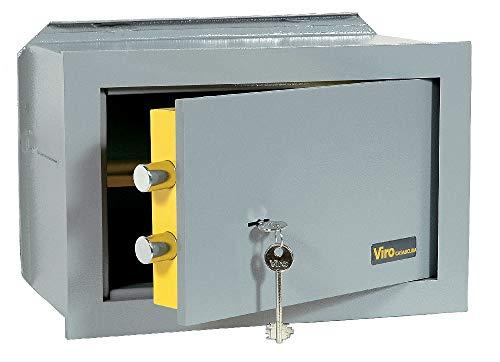 Viro 4551.20 - Caja fuerte mecánica empotrable, color gris