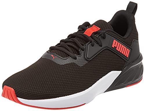 PUMA Erupter, Zapatillas para Correr Hombre, Black Urban Red, 42 EU