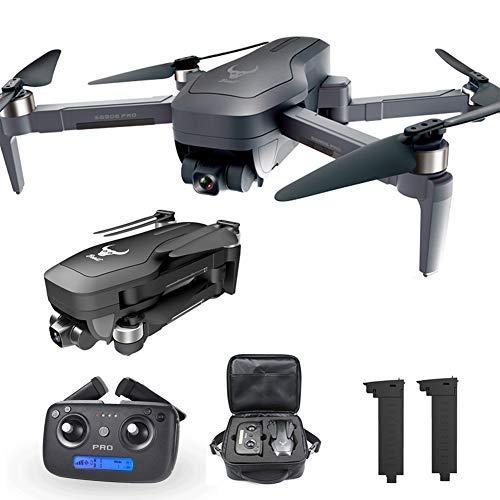 ANAN 5G WiFi FPV Drone, GPS RC Drone con Cámara 4K HD, Motor sin escobillas RC Quadcopter, Cardán 2 Ejes, 50mins (25+25) Tiempo de Vuelo, con luz LED Soporta Gafas VR 3D