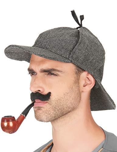 DEGUISE TOI - Chapeau détective Anglais Adulte - Taille Unique