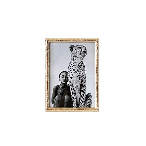 Conemmo minimalistisch goud metaal elegante mooie fotolijst accessoires voor thuis creatieve decoratieve fotolijst