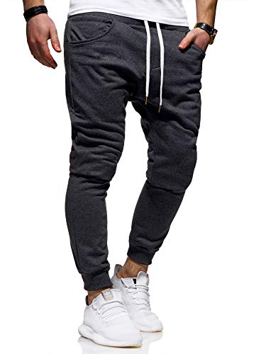 behype. Heren lange trainingsbroek joggingbroek sportbroek Basic 60-0341
