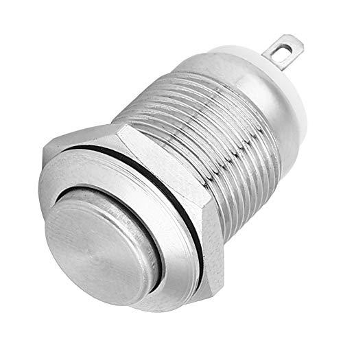 Interruptor pulsador impermeable 2 pines 1 Metal normalmente abierto para arrancadores electromagnéticos(High head)