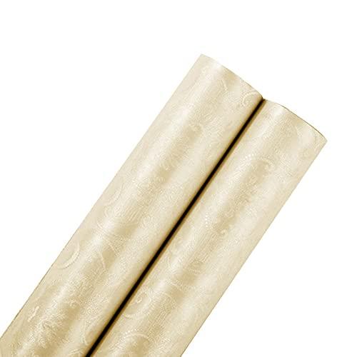XYSQ Papel Pintado De Textura Autoadhesivo De Pelar Adhesivo Impermeable Retirable para Decoración Hotel Habitación Dormitorio (Color : Yellow, Size : 60cmX100m)