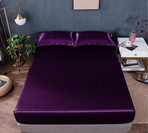 KIrSv Sábanas tamaño King para dormitorios de Hombres y Mujeres, los Protectores de colchón Antideslizantes Son la Mejor opción para Amigos y Familiares-G_180X200cm + 30cm