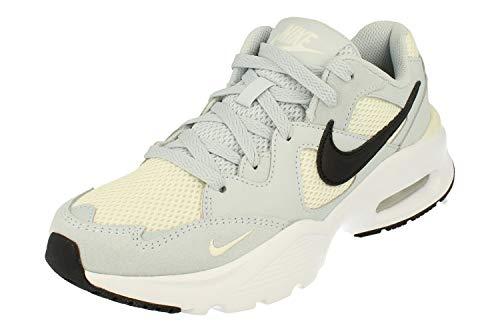 Nike Air Max Fusion, Scarpe da Corsa Donna, Aura/Black-Pale Ivory-White, 39 EU