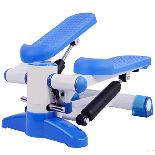 LY88 Fitness Indoor Aerobic Step Platforms Multifunctionele Motion Mute Hydraulische Stepper Fitness Trappenstappentrainer (Kleur : Blauw, Maat : 28x40x45cm)