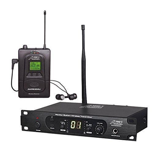 Audio2000'S In-Ear Audio Monitor System (AWM6304U)