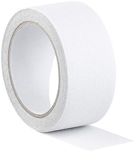 AGT Anti Rutsch Tape: Anti-Rutsch-Klebeband, robust & wasserfest, 48 mm x 4 m, transparent (Antirutschstreifen)