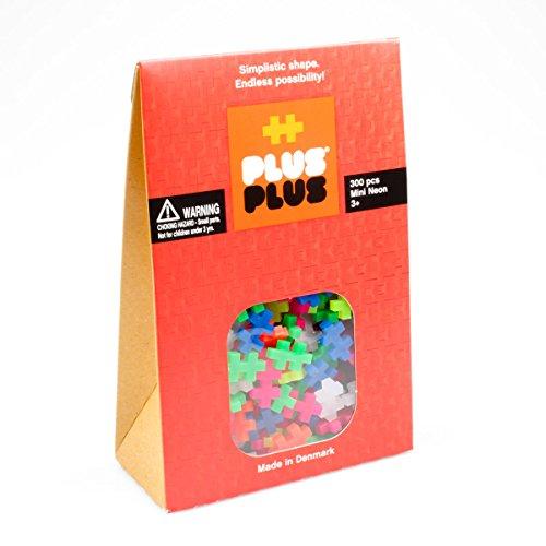 Plus-Plus 3351 - Puzzle Mini Neon, 300 Piezas