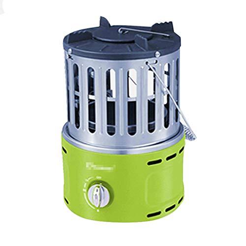 Gas Natural cubierta compacta al aire libre Calentador de espacios Fast calefacción regulable Termostato, Áreas de calor 30 Metro Cuadrado / 300 Sq.Pies, Jardín calentador al aire libre, cubierta de a