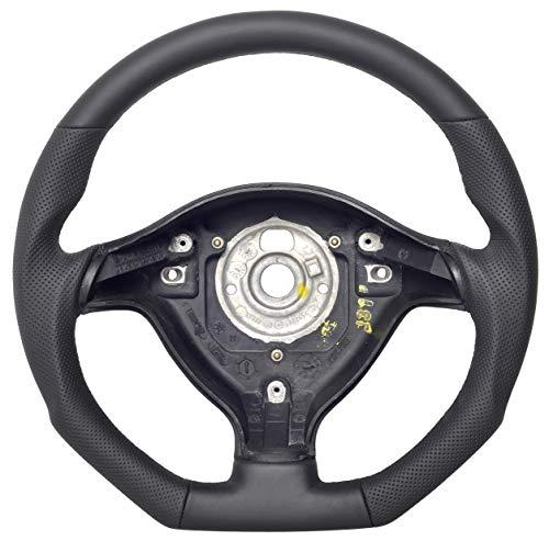 Autofun Extreme Volant avec housse en cuir véritable compatible avec Volkswagen Golf IV.