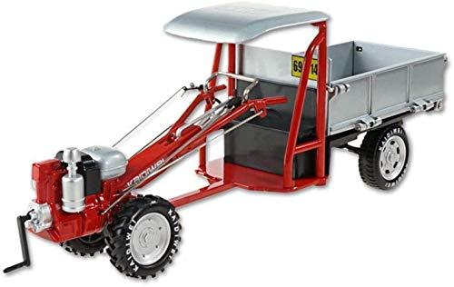GXT Modelo Coche Modelo de ingeniería del Coche Modelo de simulación de 1:16 Relación de Modelo de simulación de motocultor Boy Toy Niño Rompecabezas (Color : Red)