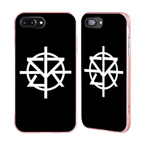 Head Case Designs Oficial WWE Logotipo Mono Seth Rollins Caso de Guardabarros Compatible con Apple iPhone 7 Plus/iPhone 8 Plus