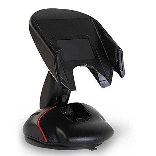 CHUNZHJIA Soporte Plegable para ratón Transformative Soporte para teléfono Inteligente Universal para teléfono móvil Soporte de 4-6.5 Pulgadas con Ventosa Giratorio con un Clic Control