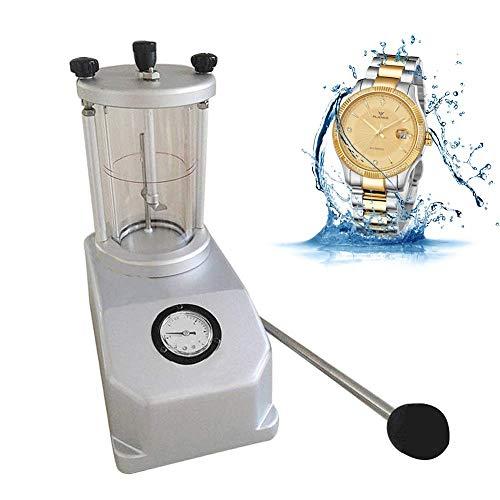 Kücheks Watch Waterproof Tester Detector Tool Uhrengehäuse Wasserdichtes Prüfgerät für den Widerstand von bis zu 6 ATM, für den gewerblichen und privaten Gebrauch