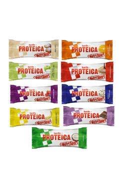 12 Barritas Proteicas Nutrisport Variadas 46 gr.