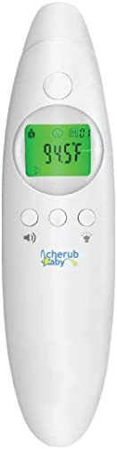 Cherub Baby 4 in 1 Infrared Digital Ear and Forehead Thermometer V2