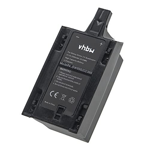 vhbw Batteria Compatibile con Parrot Bebop 3.0, 3.0 Skycontroller Drone quadricottero multicottero (2300mAh, 11,1V, Li-Poly)